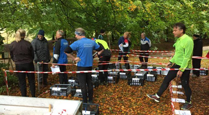 Kredsløb 14. oktober 2018 i Lille Hareskov og Jonstrup vang.